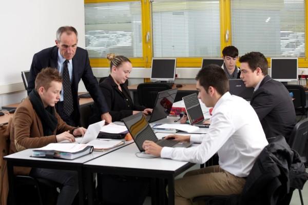 Salle de classe ISFFEL BTS MCO (ex. BTS MUC)